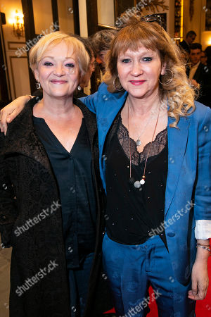 Stock Image of Maria Friedman and Sonia Friedman (Producer)