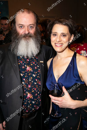 Dermot Canavan (Lazar Wolf) and Judy Kuhn (Golde)