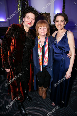Louise Gold (Yente), Lesley Nicol and Judy Kuhn (Golde)