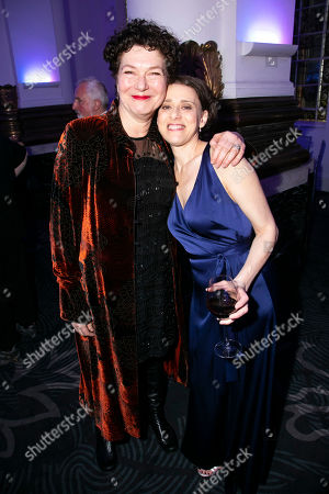 Louise Gold (Yente) and Judy Kuhn (Golde)