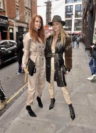 Angela Radcliffe and Caroline Sciamma Massenet