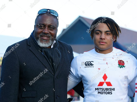 Editorial picture of England Under 18 v France Under 18, Rugby Union, Cheshunt RFC, Cheshunt, Hertfordshire, UK - 24/03/2019