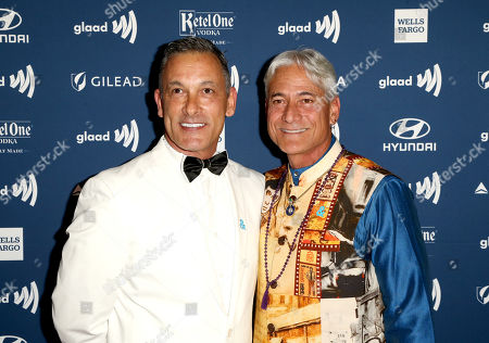 Stock Picture of Johnny Chaillot and Greg Louganis