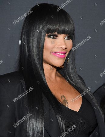 "Hip-hop recording artists Sandra Denton ""Pepa"" of Salt-N-Pepa attends A+E Networks' 2019 Upfront at Jazz at Lincoln Center, in New York"