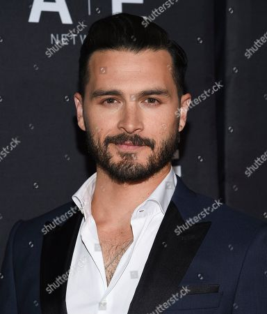 Michael Malarkey attends A+E Networks' 2019 Upfront at Jazz at Lincoln Center, in New York