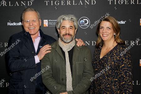 David Zaslav (Pres. & CEO Discovery), Ross Kauffman (Director), Nancy Daniels (Chief Brand Officer Discovery)