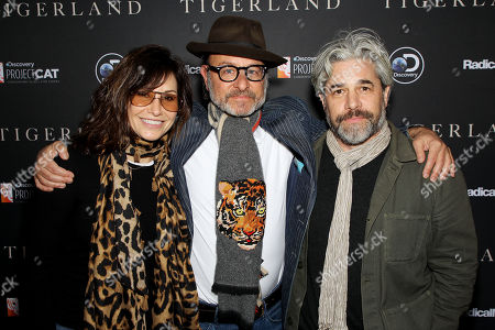 Gina Gershon, Fisher Stevens (Producer), Ross Kauffman (Director)