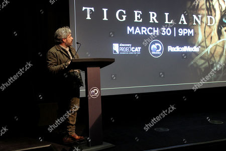"""Editorial picture of New York Special Screening of Discovery's """"TIGERLAND"""" Documentary, New York, USA - 27 Mar 2019"""