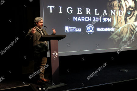 """Editorial photo of New York Special Screening of Discovery's """"TIGERLAND"""" Documentary, New York, USA - 27 Mar 2019"""