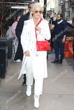 Editorial picture of Rita Ora and Elena Ora out and about, New York, USA - 27 Mar 2019