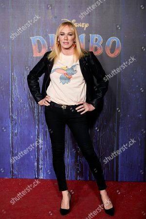 Editorial image of 'Dumbo' film premiere, Madrid, Spain - 27 Mar 2019