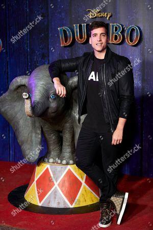 Editorial photo of 'Dumbo' film premiere, Madrid, Spain - 27 Mar 2019
