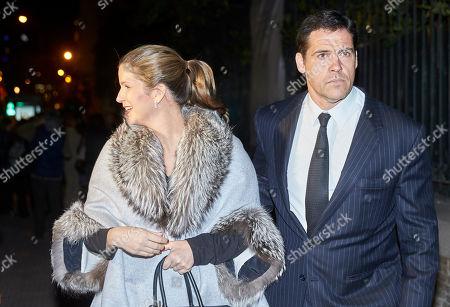 Margarita Vargas and Luis Alfonso De Borbon