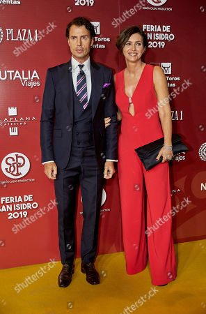 Stock Image of Finito de Cordoba and wife Arancha del Sol