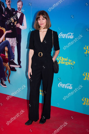Editorial photo of '¿Que te juegas?' film premiere, Madrid, Spain - 27 Mar 2019