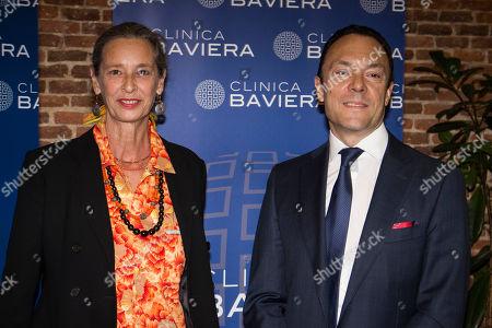 Paola Dominguin and Dr. Fernando Llovert