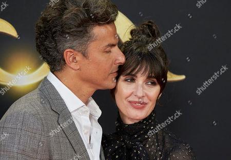 Orson Salazar and Paz Vega