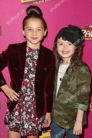 Madeleine McGraw and Violet McGraw