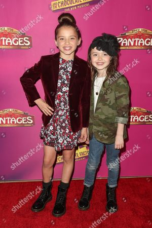 Stock Picture of Madeleine McGraw and Violet McGraw