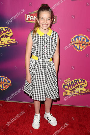 Editorial picture of 'Charlie and the Chocolate Factory' opening night, Pantages Theatre, Los Angeles, USA - 27 Mar 2019