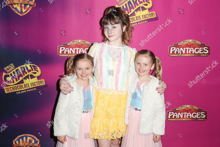 Editorial photo of 'Charlie and the Chocolate Factory' opening night, Pantages Theatre, Los Angeles, USA - 27 Mar 2019