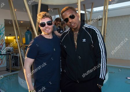 Andrew Harr, Jermaine Jackson, BLVK JVCK. Andrew Harr, left, and Jermaine Jackson of DJ duo BLVK JVCK attend the Big Beat & Friends Miami party at the Dream Hotel, in Miami Beach, Fla