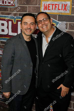 Stock Picture of Eddie Gonzalez and Jeremy Haft
