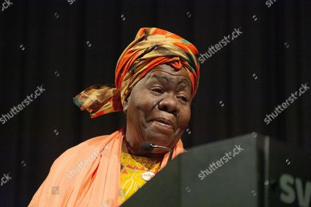 Stock Picture of Queen Mother Dr. Delois Blakely, humanitarian and honorary mayor of Harlem
