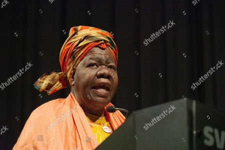 Stock Photo of Queen Mother Dr. Delois Blakely, humanitarian and honorary mayor of Harlem