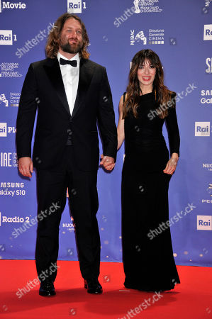 Stock Image of Nick George and Sabrina Impacciatore