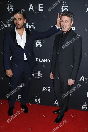 Michael Malarkey and Aidan Gillen