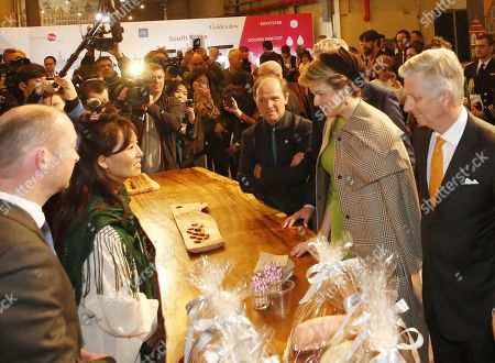 Belgian Royals state visit South Korea Day Stock Photos (Exclusive