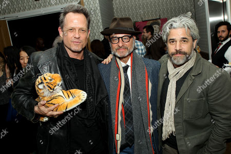 Stock Picture of Dean Winters, Fisher Stevens (Producer), Ross Kauffman (Director)