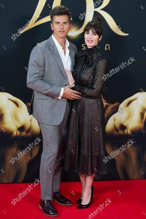 Orson Salazar and wife Paz Vega