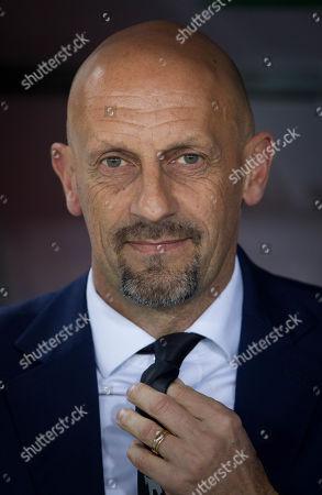 Chievo Verona's coach Domenico Di Carlo.