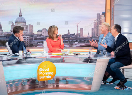 Ben Shephard, Kate Garraway, Iwan Thomas and Quentin Willson