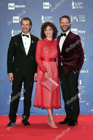 Editorial photo of David di Donatello Award ceremony, Rome, Italy - 27 Mar 2019