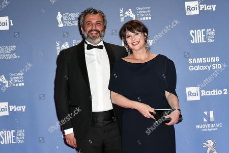 Lorena Bianchetti with husband Bernardo De Luca