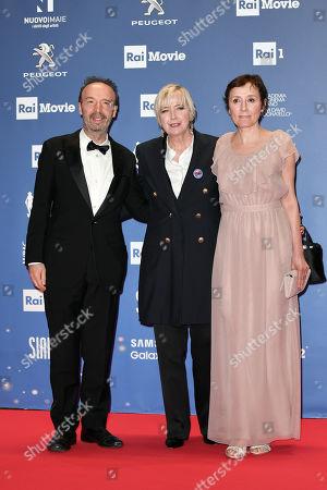 Roberto Benigni, Piera Detassis, Nicoletta Braschi