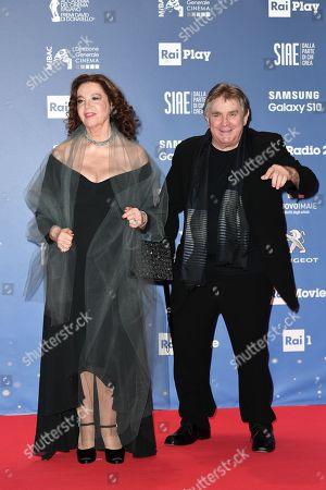 Stefania Sandrelli with husband Giovanni Soldati