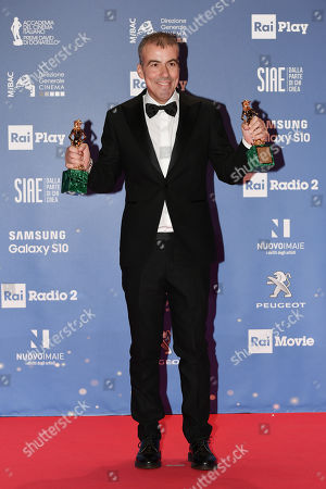 Editorial picture of David di Donatello Award ceremony, Rome, Italy - 27 Mar 2019