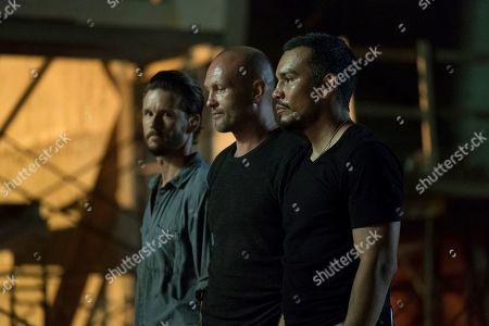 Ryan Kwanten as Steve Hammond, Andrew Howard as Kraley and Joseph Julian Soria as Ramos