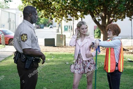 Jay DeVon Johnson as Sheriff Marchbanks, Laura Wiggins as Helen Corning and Sophia Lillis as Nancy Drew
