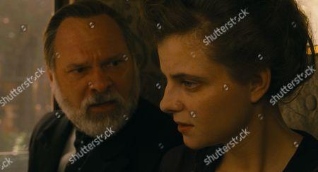 Vlad Ivanov as Oszkar Brill and Juli Jakab as Irisz Leiter