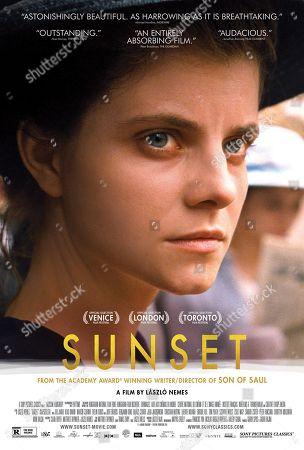 Sunset (2018) Poster Art. Juli Jakab as Irisz Leiter