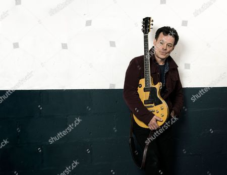 London United Kingdom - March 6: Portrait Of English Musician James Hunter Photographed Before A Live Performance At The Borderline In London On March 6