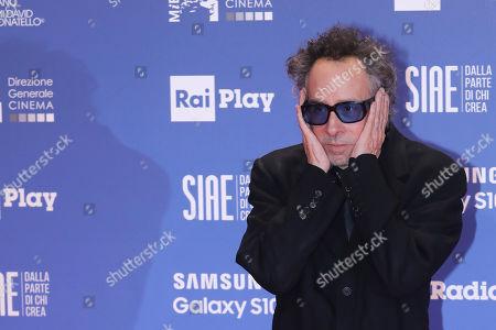 Editorial image of David di Donatello Award ceremony, Rome, Italy - 27 Mar 2019