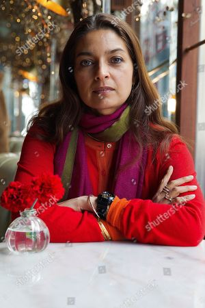 British-born US writer and Pulitzer Prize winner Jhumpa Lahiri poses during an interview in Madrid, Spain, 28 March 2019. Jhumpa presented the Spanish edition of her novel 'Dove mi Trovo'.