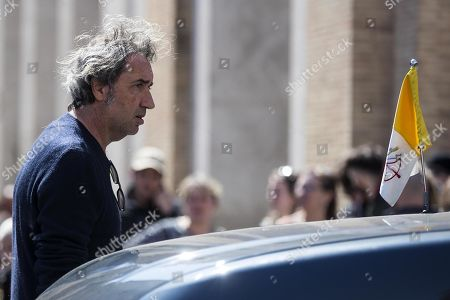 Paolo Sorentino during the filming of the television series 'The New Pope' in Rome, Italy, 28 March 2019. The sequel of Paolo Sorrentino's 2016 TV series 'The Young Pope' is scheduled to be released in December 2019.