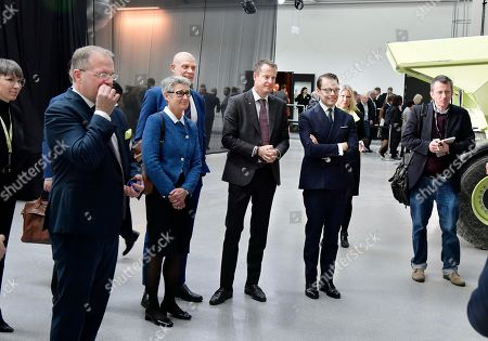 Editorial image of Prince Daniel attends 'CampX by Volvo Group' opening, Gothenburg, Sweden - 28 Mar 2019